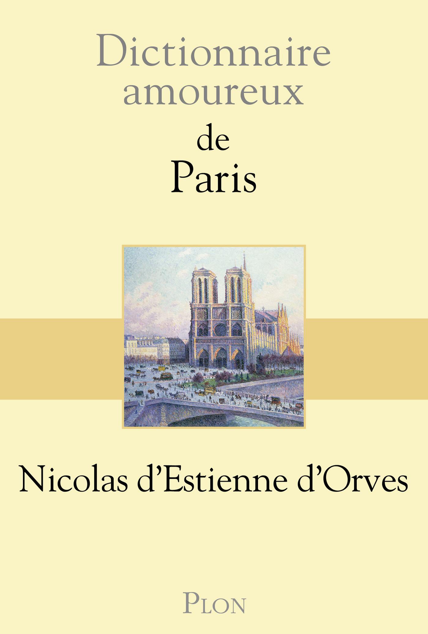 Dictionnaire amoureux de Paris