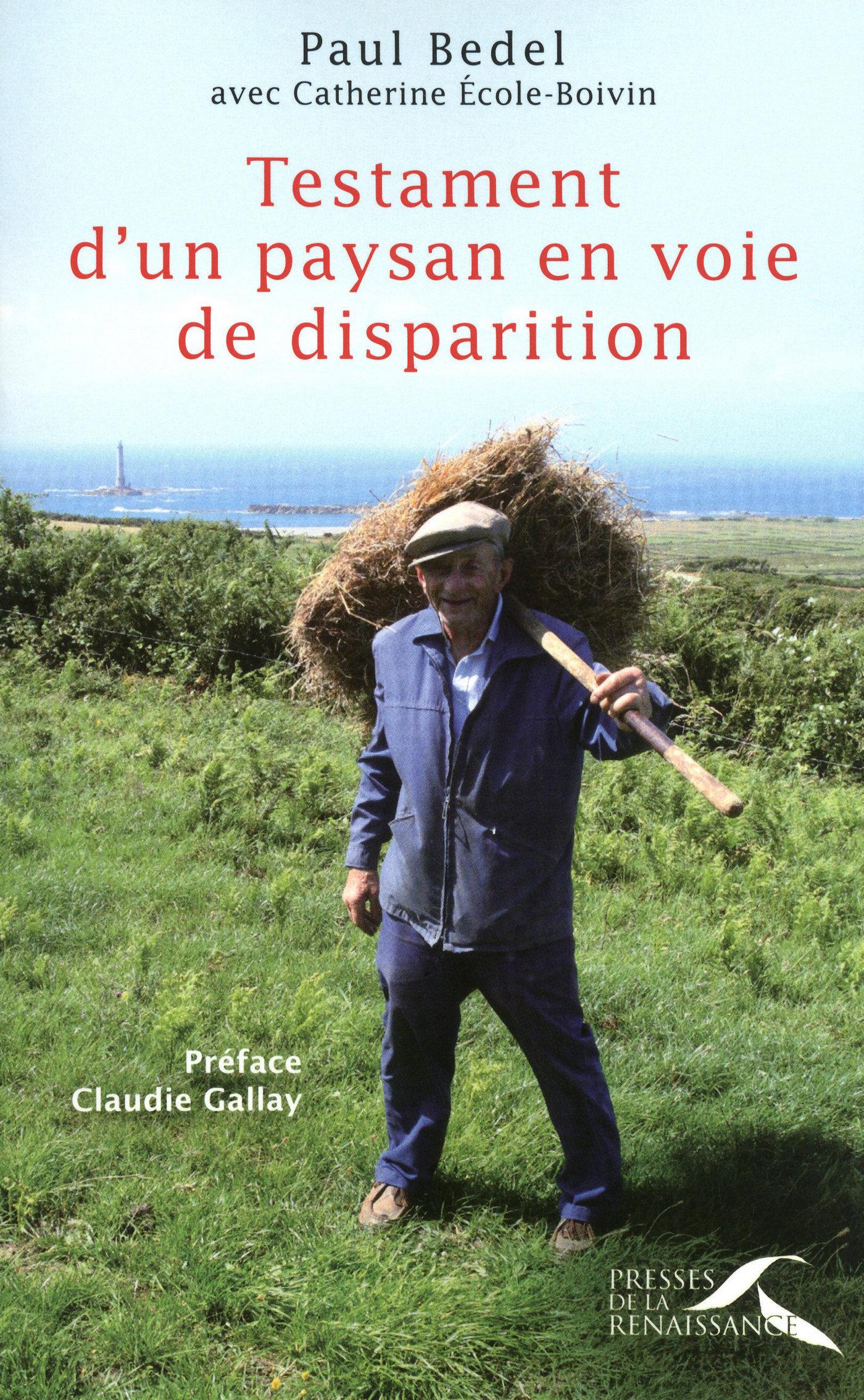 Testament d'un paysan en voie de disparition (ebook)