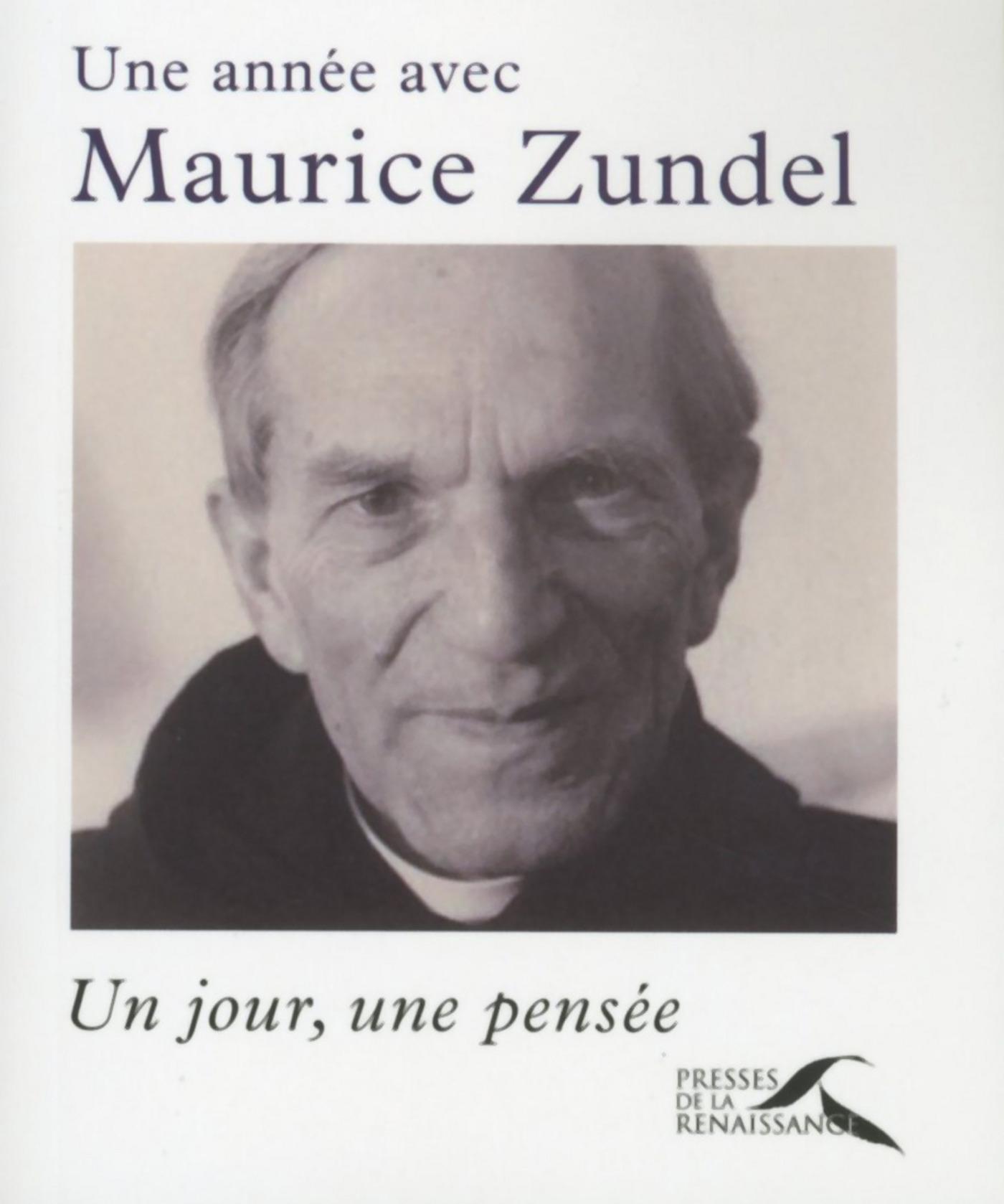Une année avec Maurice Zundel