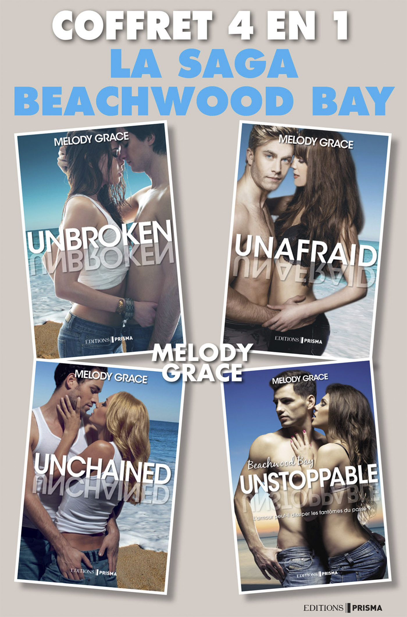 Coffret Beachwood Bay - Unbroken - Unafraid - Unchained - Unlimited
