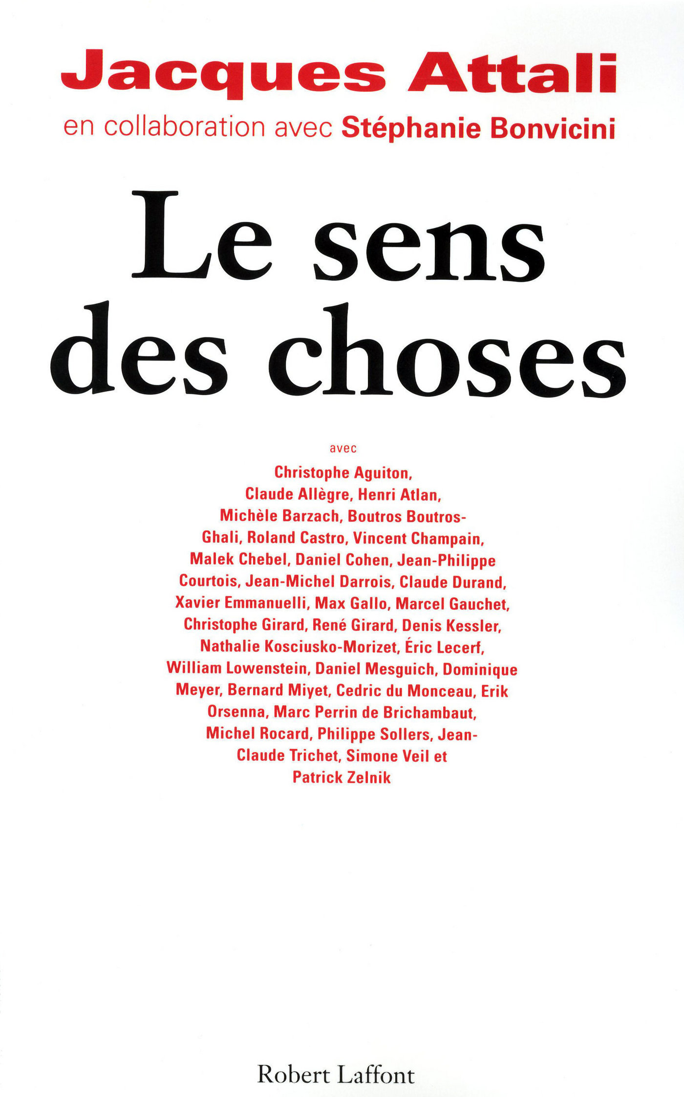 Le sens des choses (ebook)