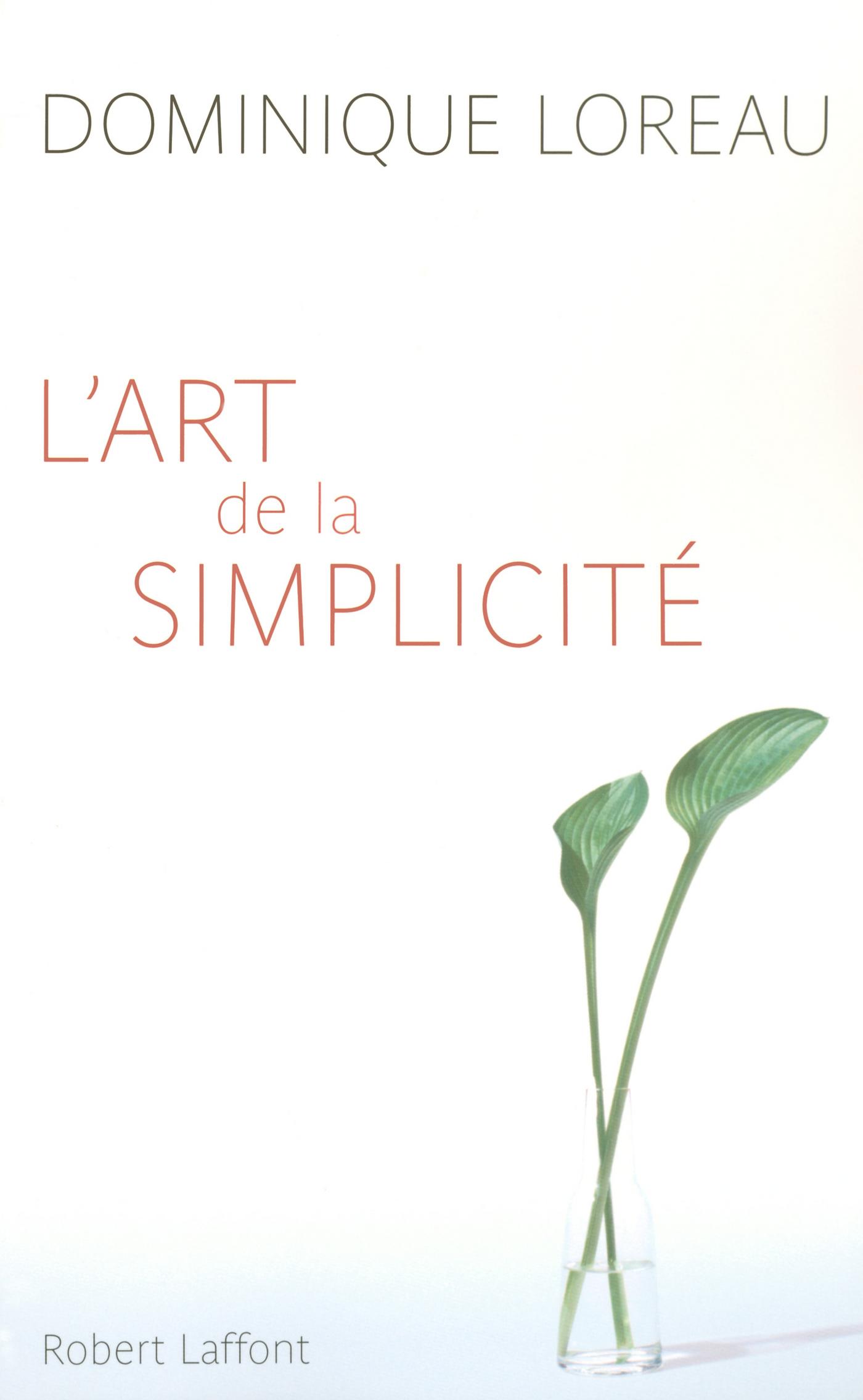 L'Art de la simplicité (ebook)