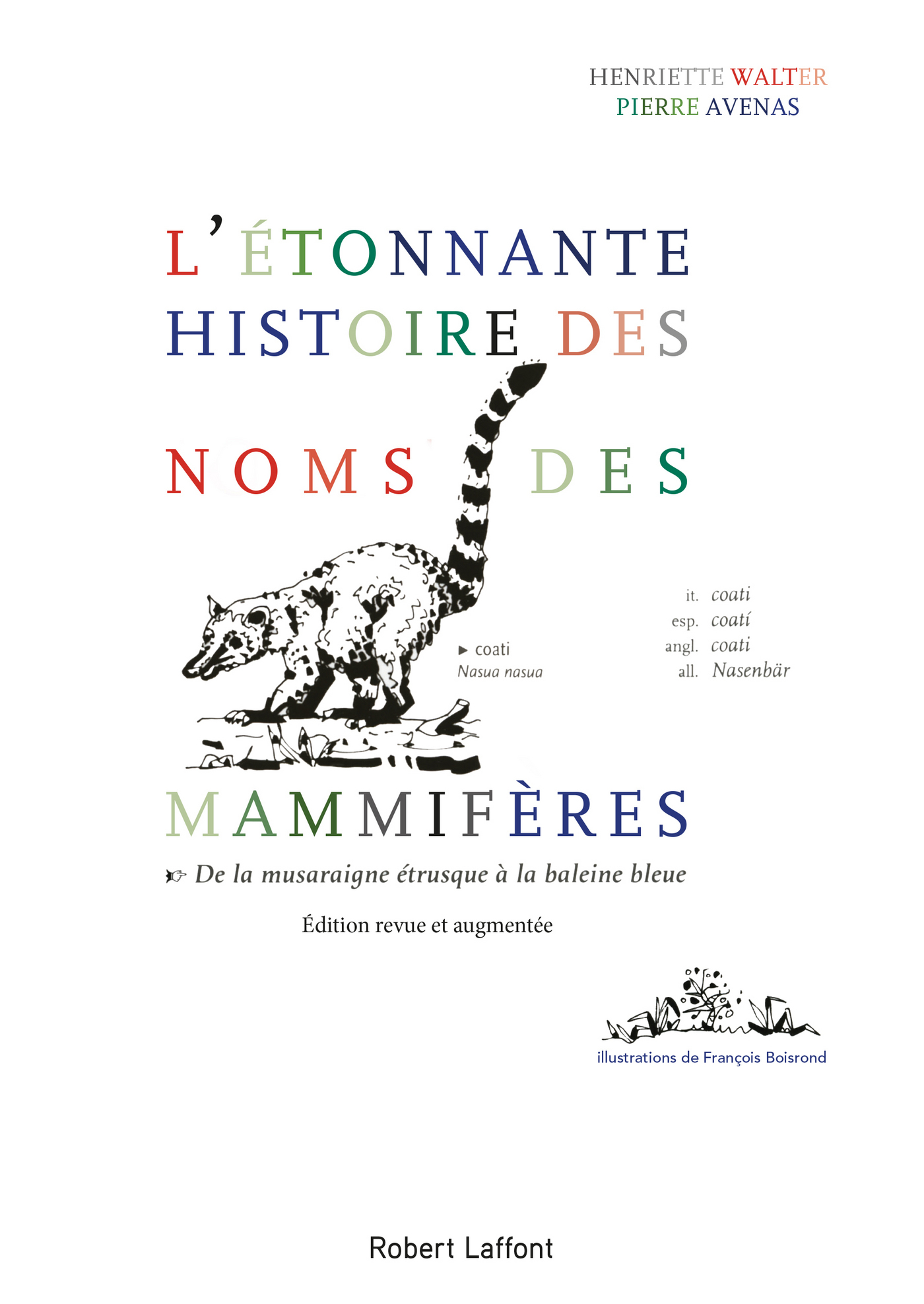 L'Étonnante histoire des noms des mammifères (ebook)