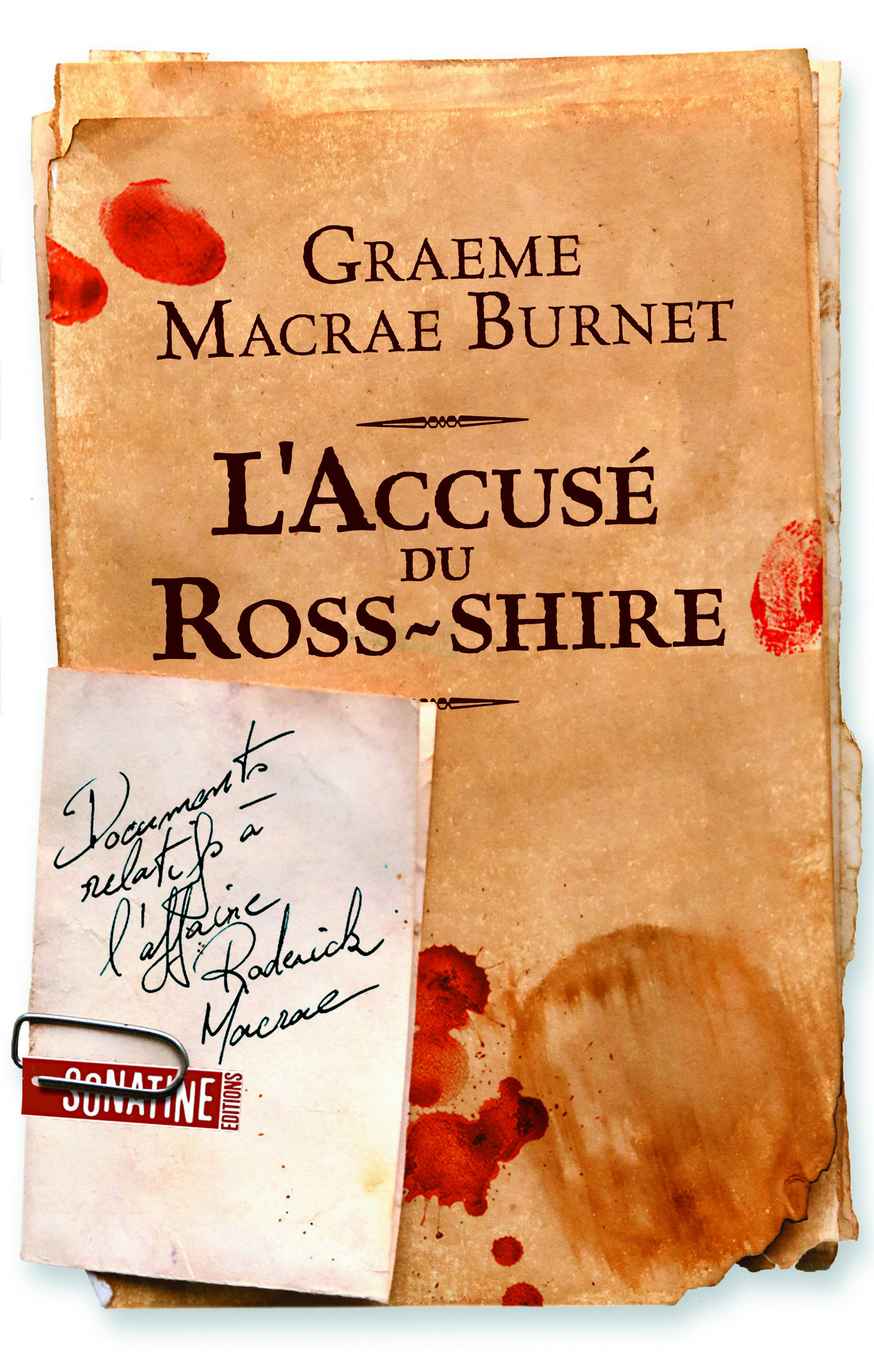L'Accus? du Ross-shire, Documents relatifs ? l'affaire Roderick Macrae