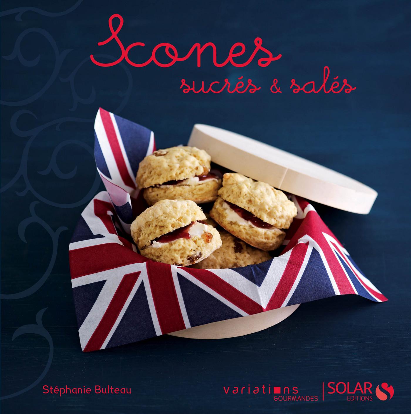 Vignette du livre Scones sucrés & salés - Variations gourmandes