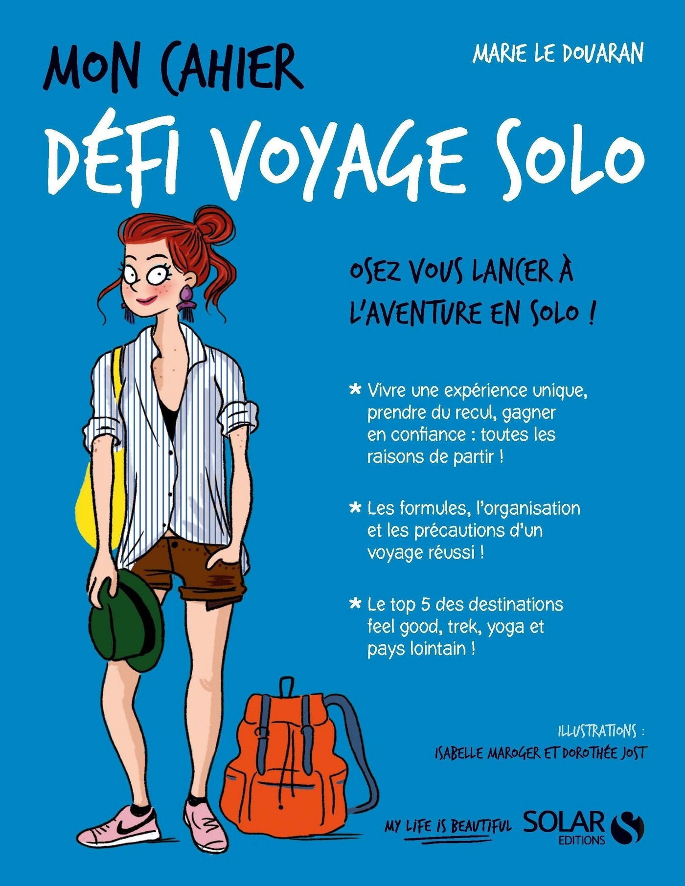 Vignette du livre Mon cahier Défi voyage solo