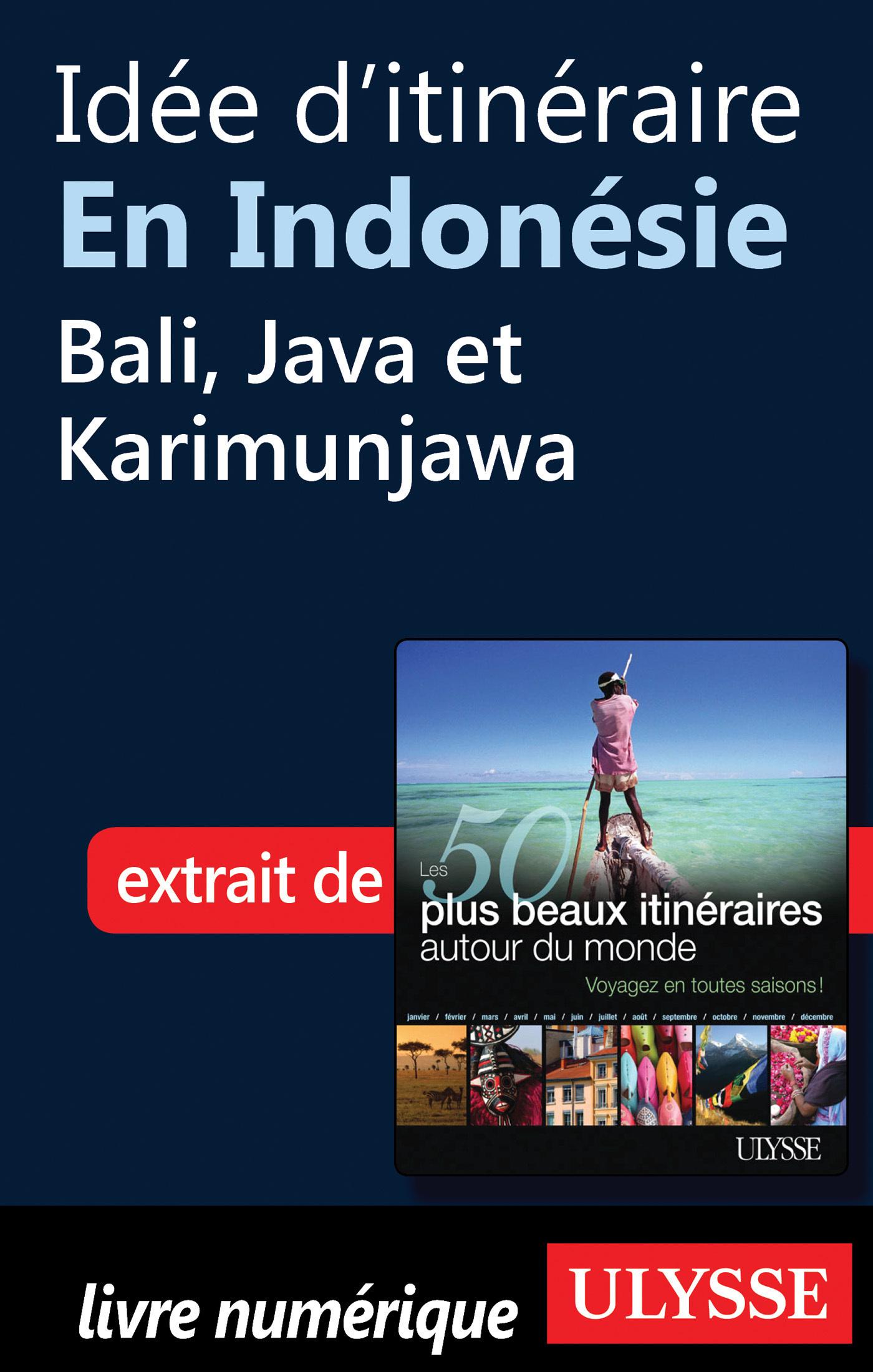 Idée d'itinéraire en Indonésie : Bali, Java et Karimunjawa