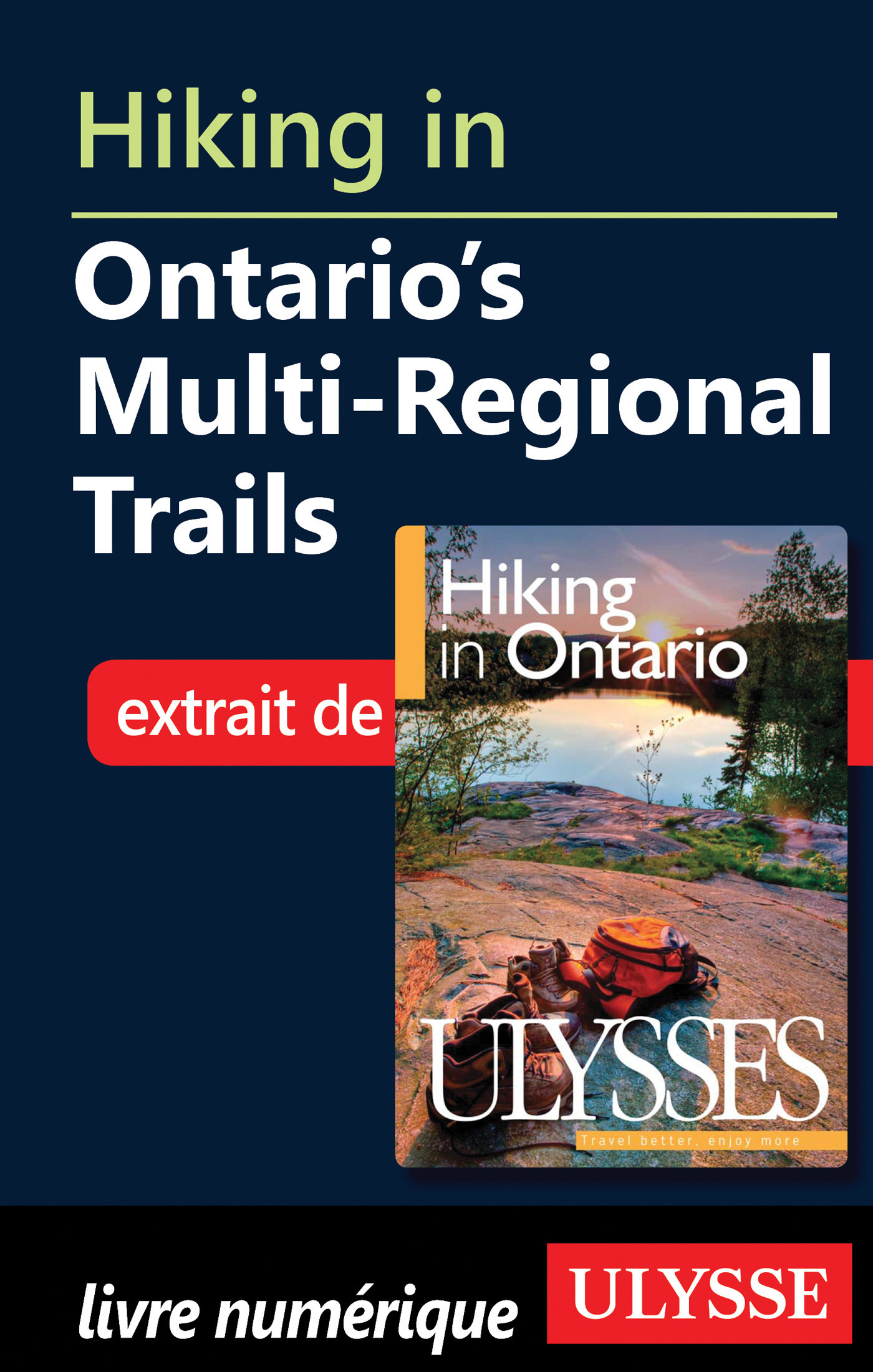 Hiking in Ontario s Multi-Regional Trails (ebook)