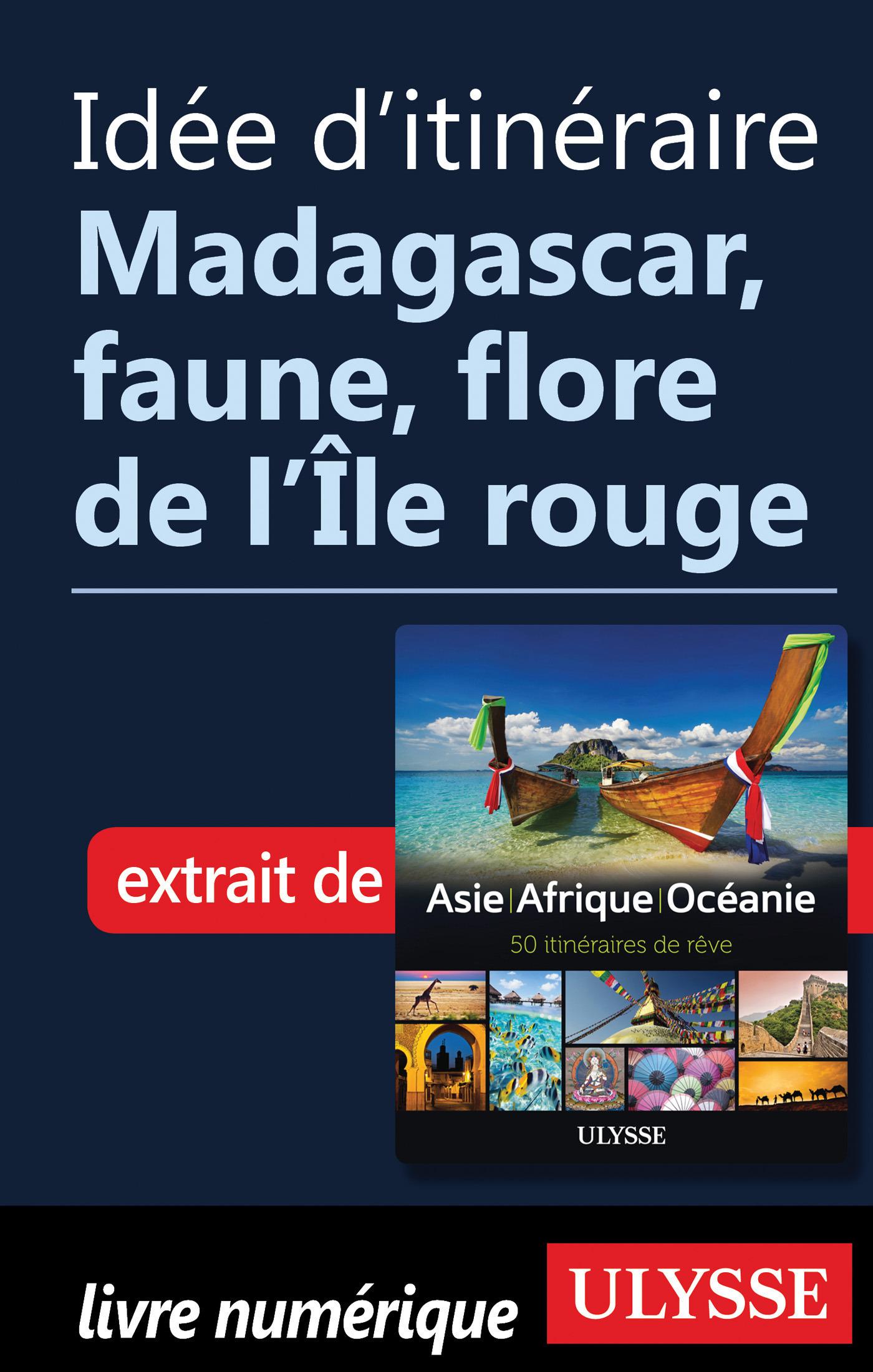 Idée d'itinéraire - Madagascar, faune, flore de l ile rouge