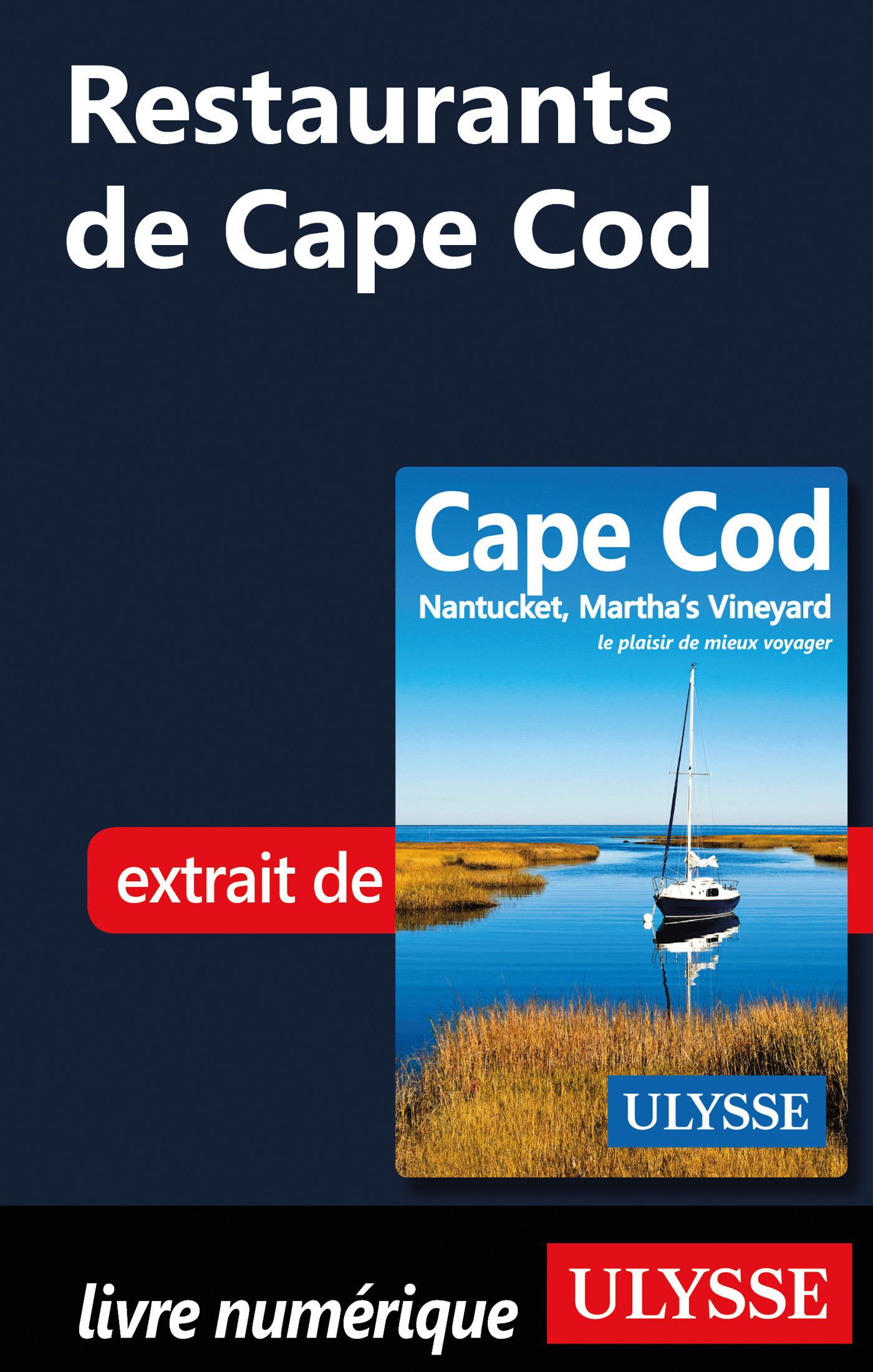 Restaurants de Cape Cod (ebook)