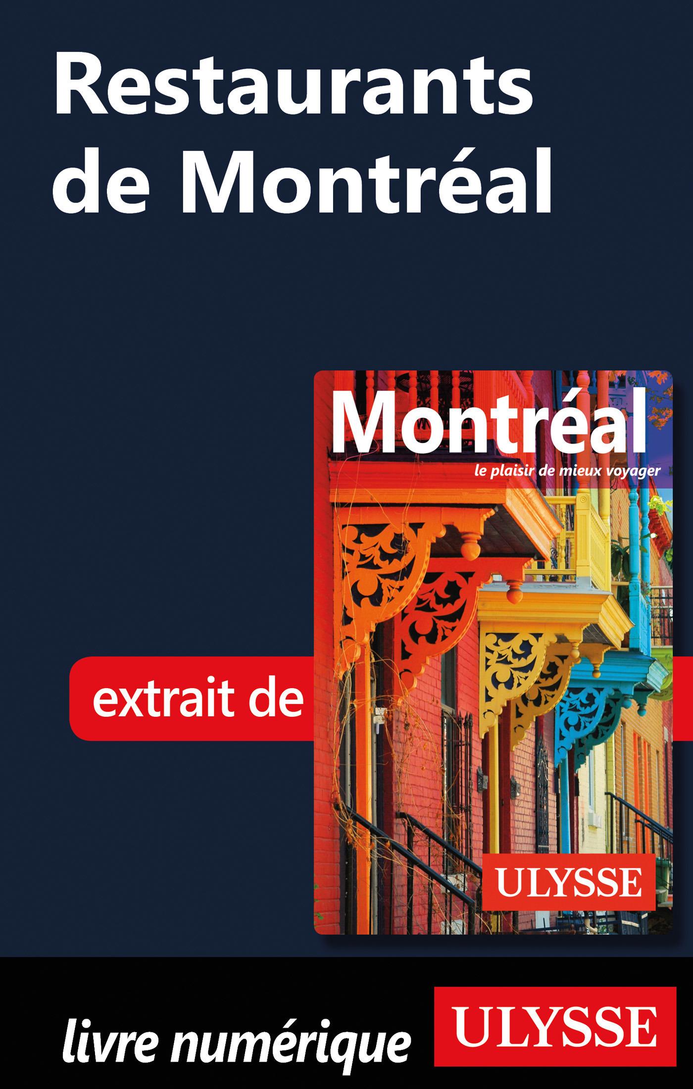 Restaurants de Montréal (ebook)