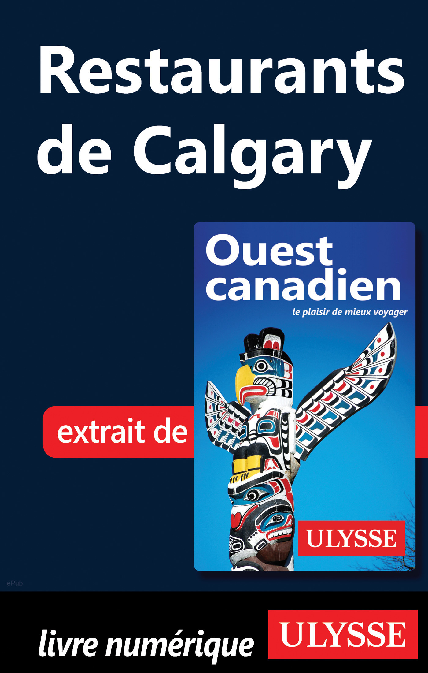 Restaurants de Calgary (ebook)