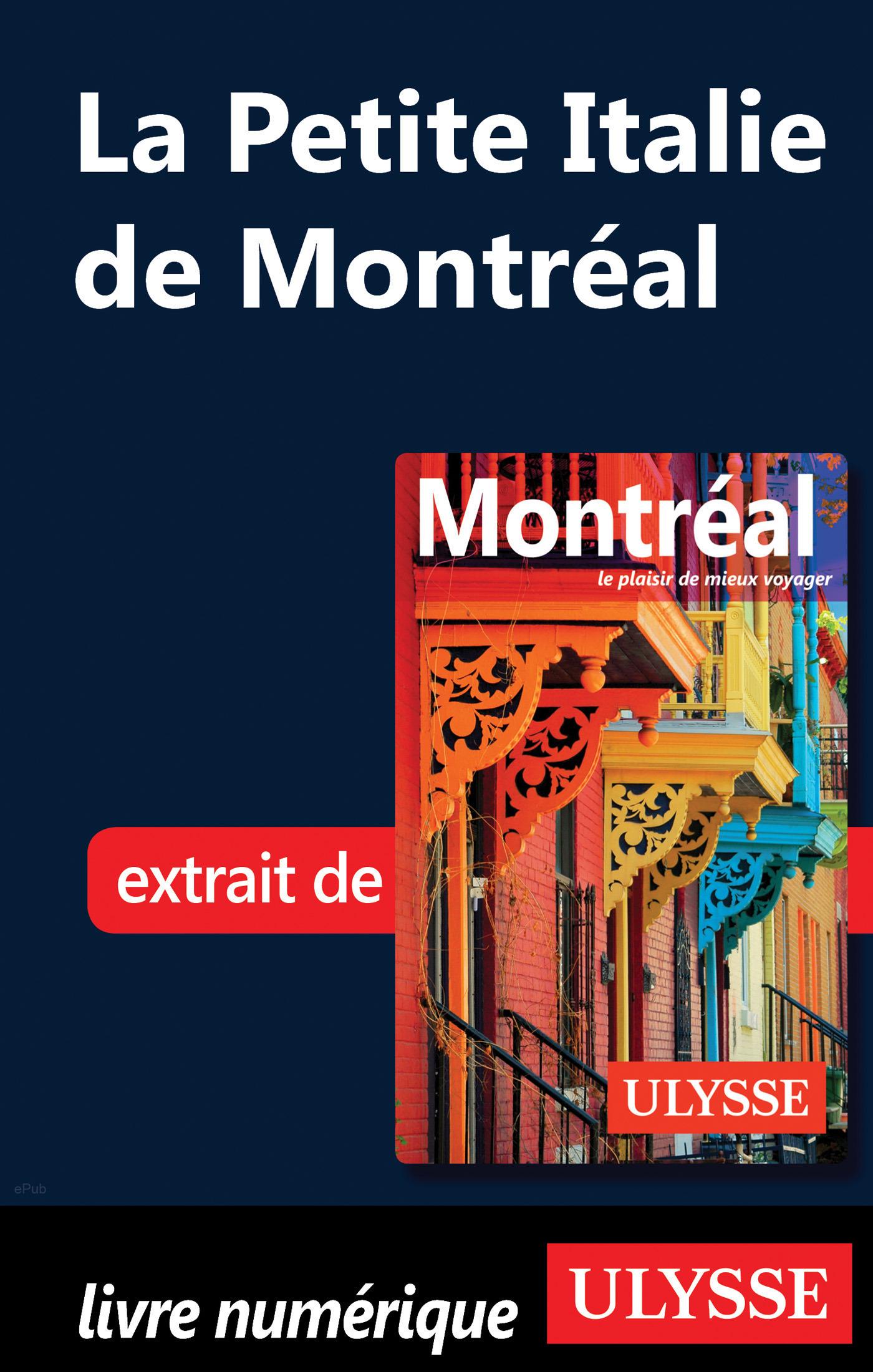 La Petite Italie de Montréal (ebook)