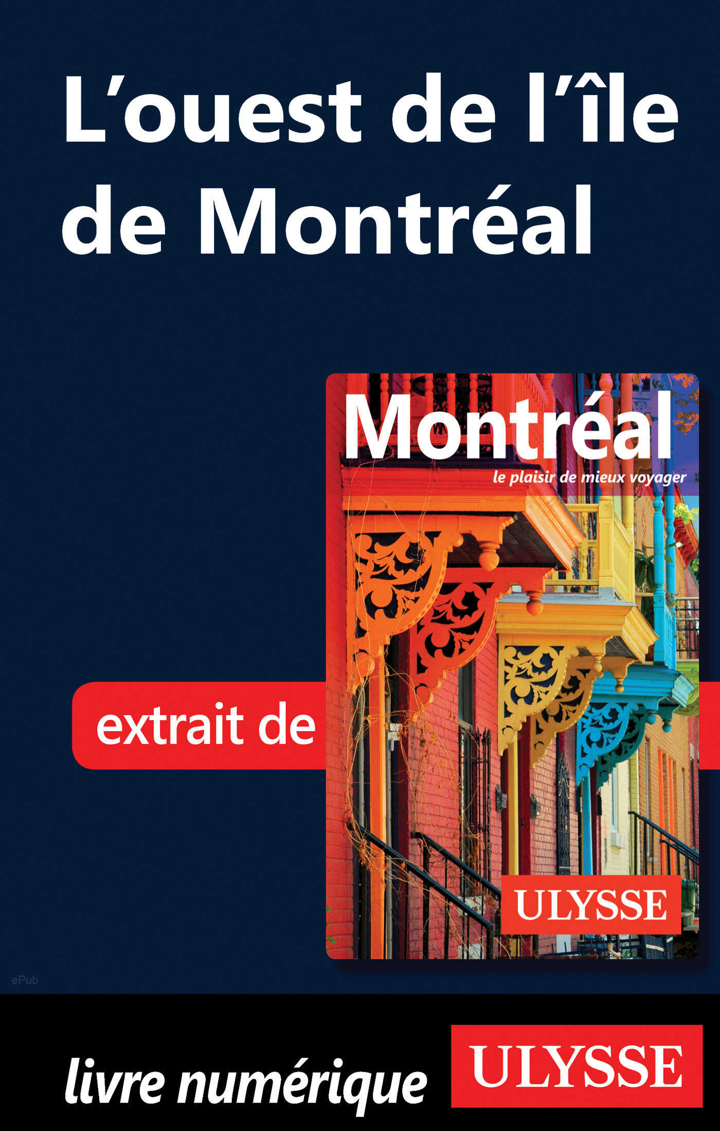 L'ouest de l'ile de Montréal