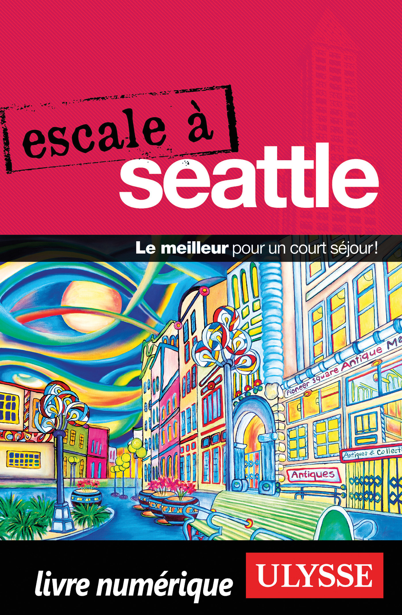 Escale à Seattle (ebook)