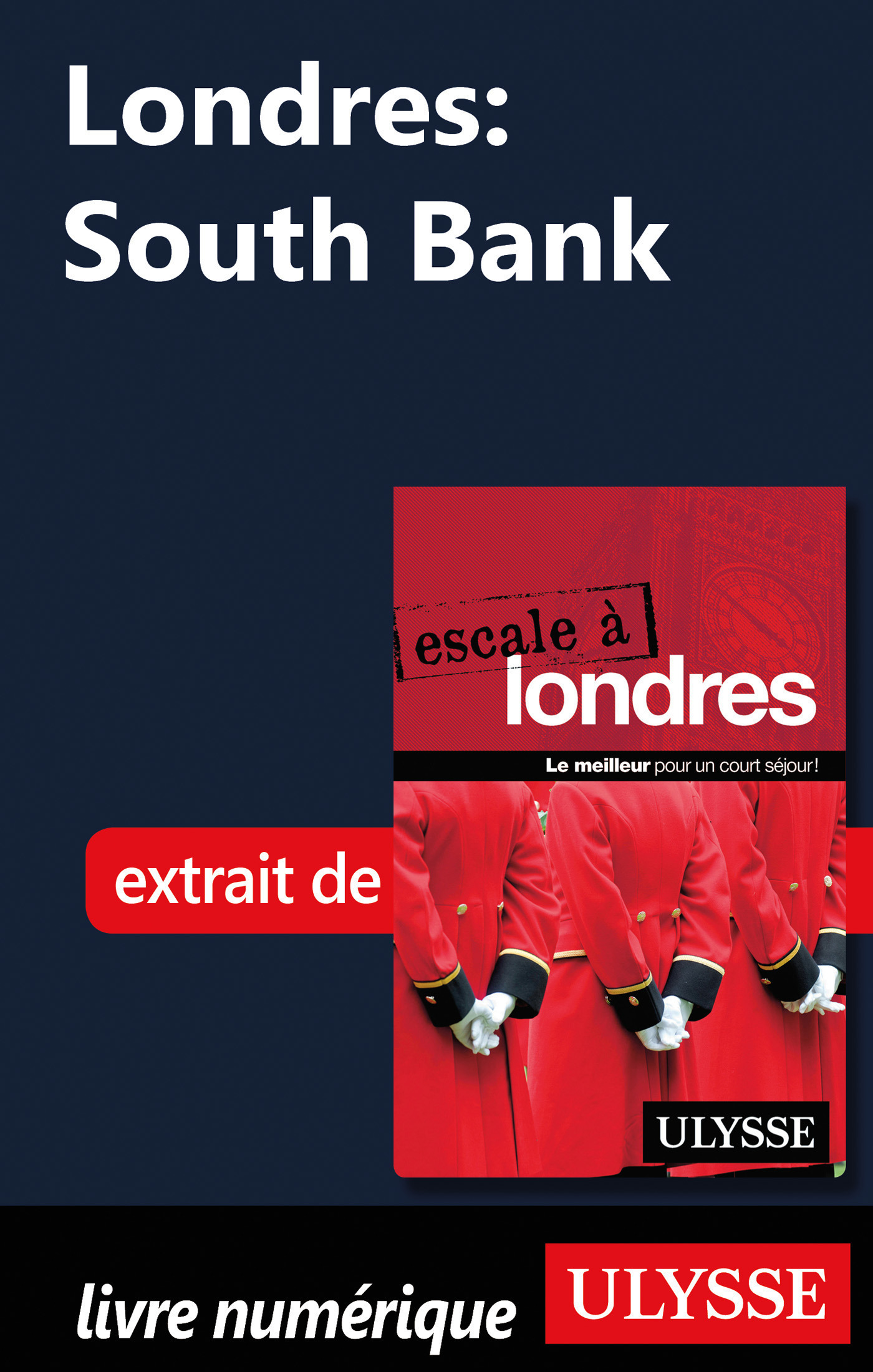 Londres : South Bank (ebook)