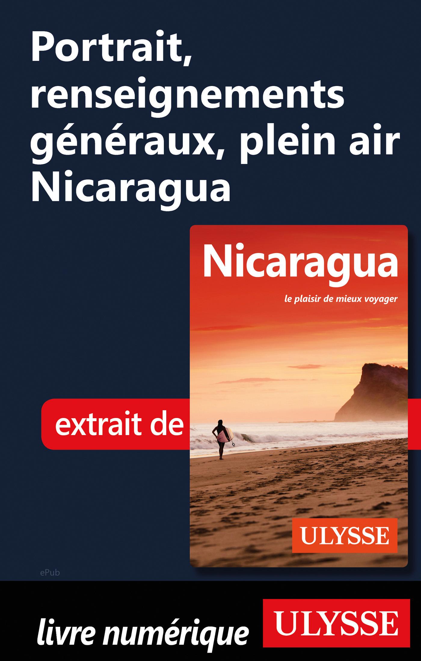 Portrait, renseignements généraux Nicaragua