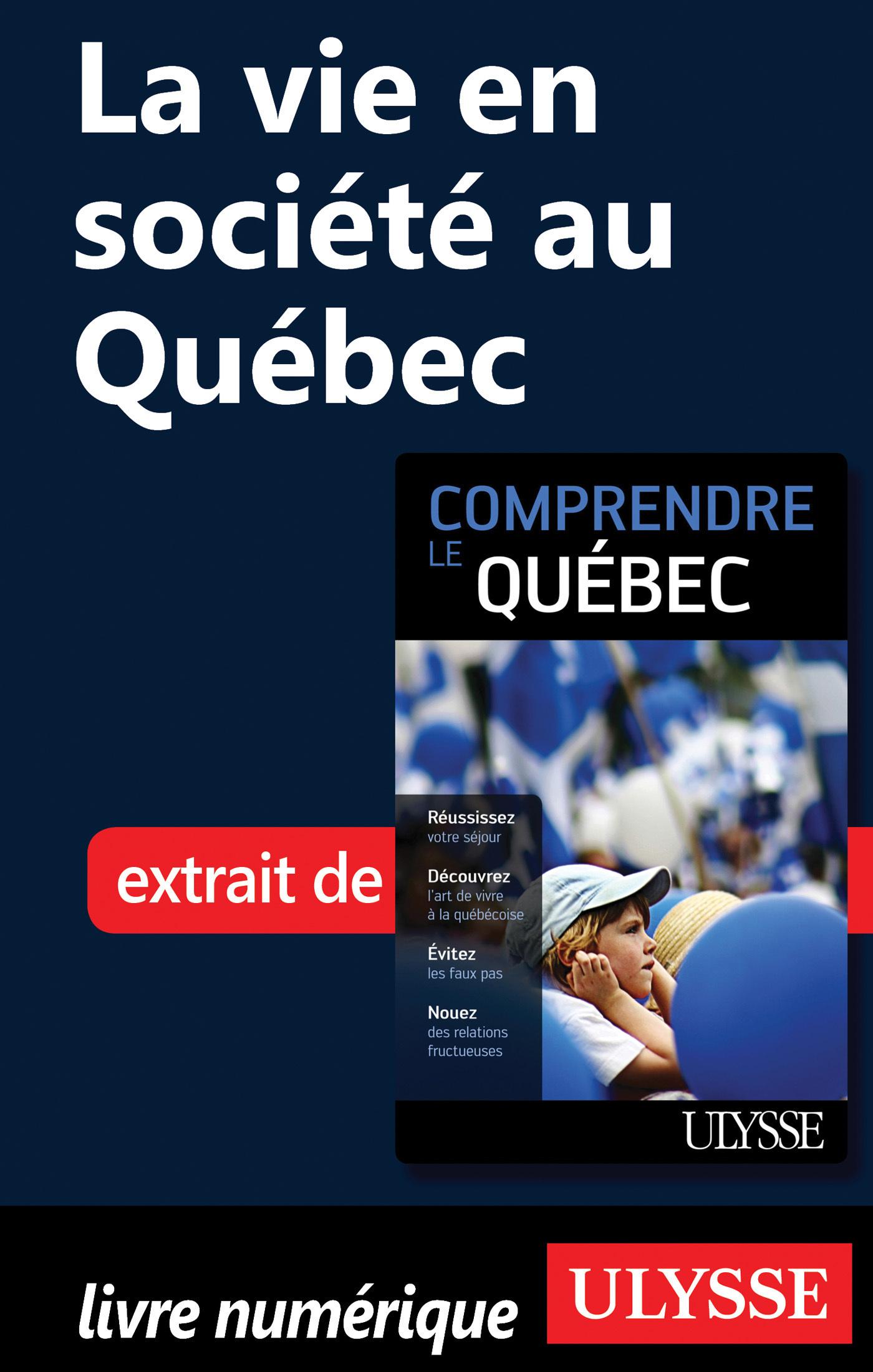 La vie en société au Québec (ebook)