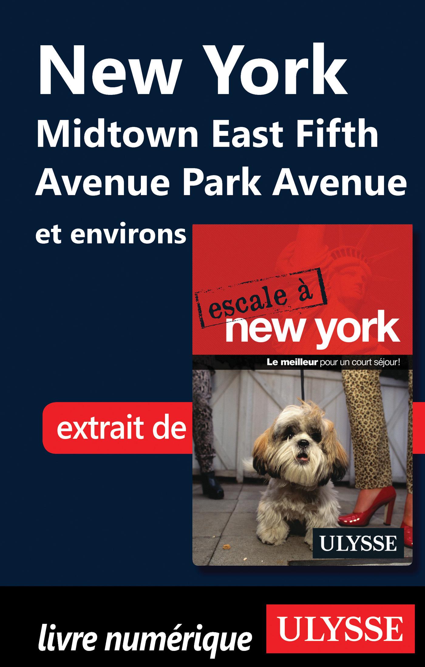 New York : Midtown East Fifth Avenue Park Avenue et environs