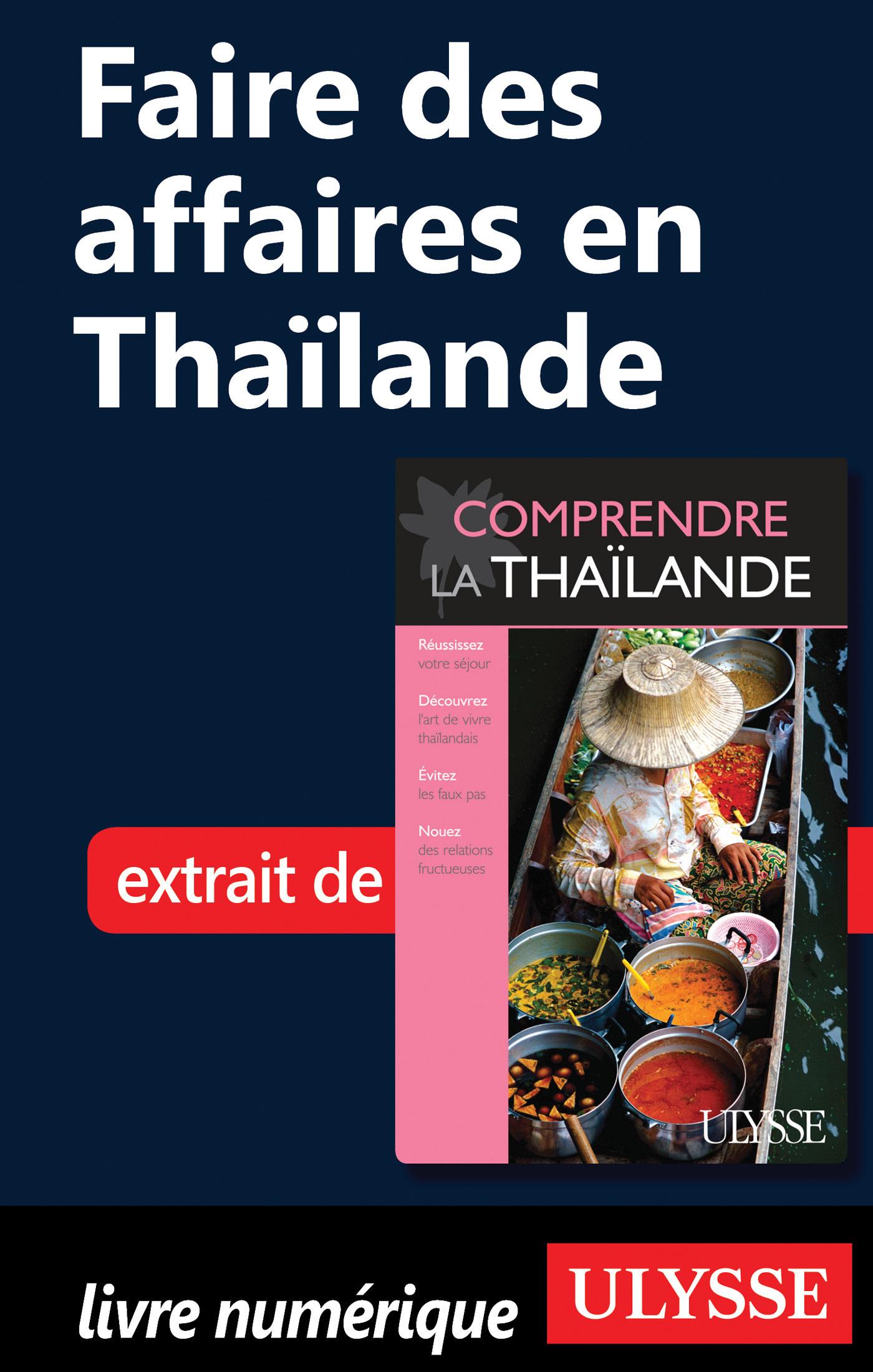 Faire des affaires en Thaïlande