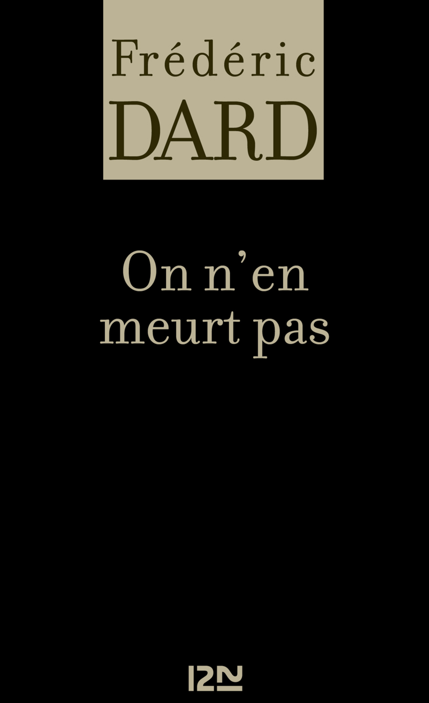 On n'en meurt pas (ebook)