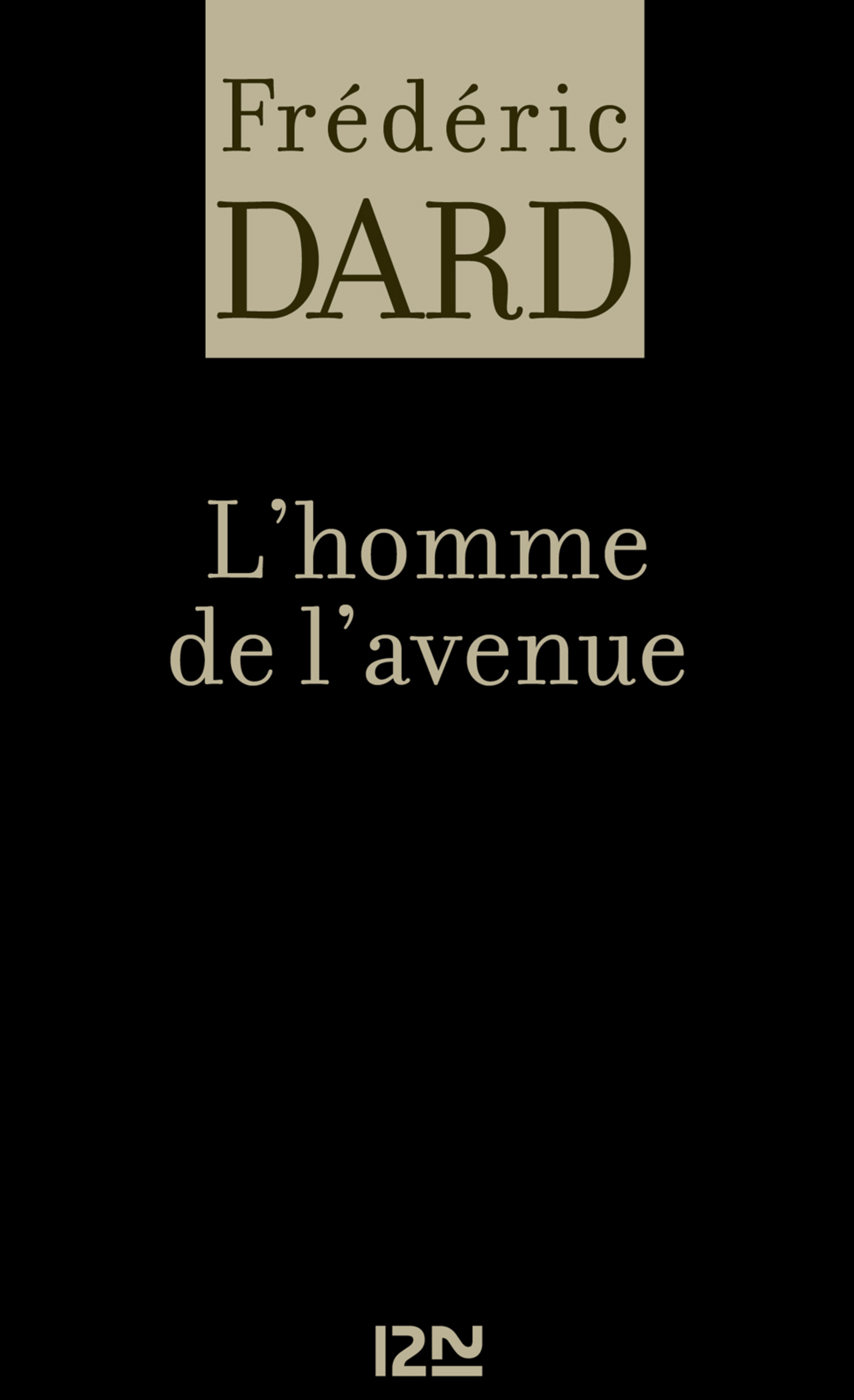 L'homme de l'avenue (ebook)