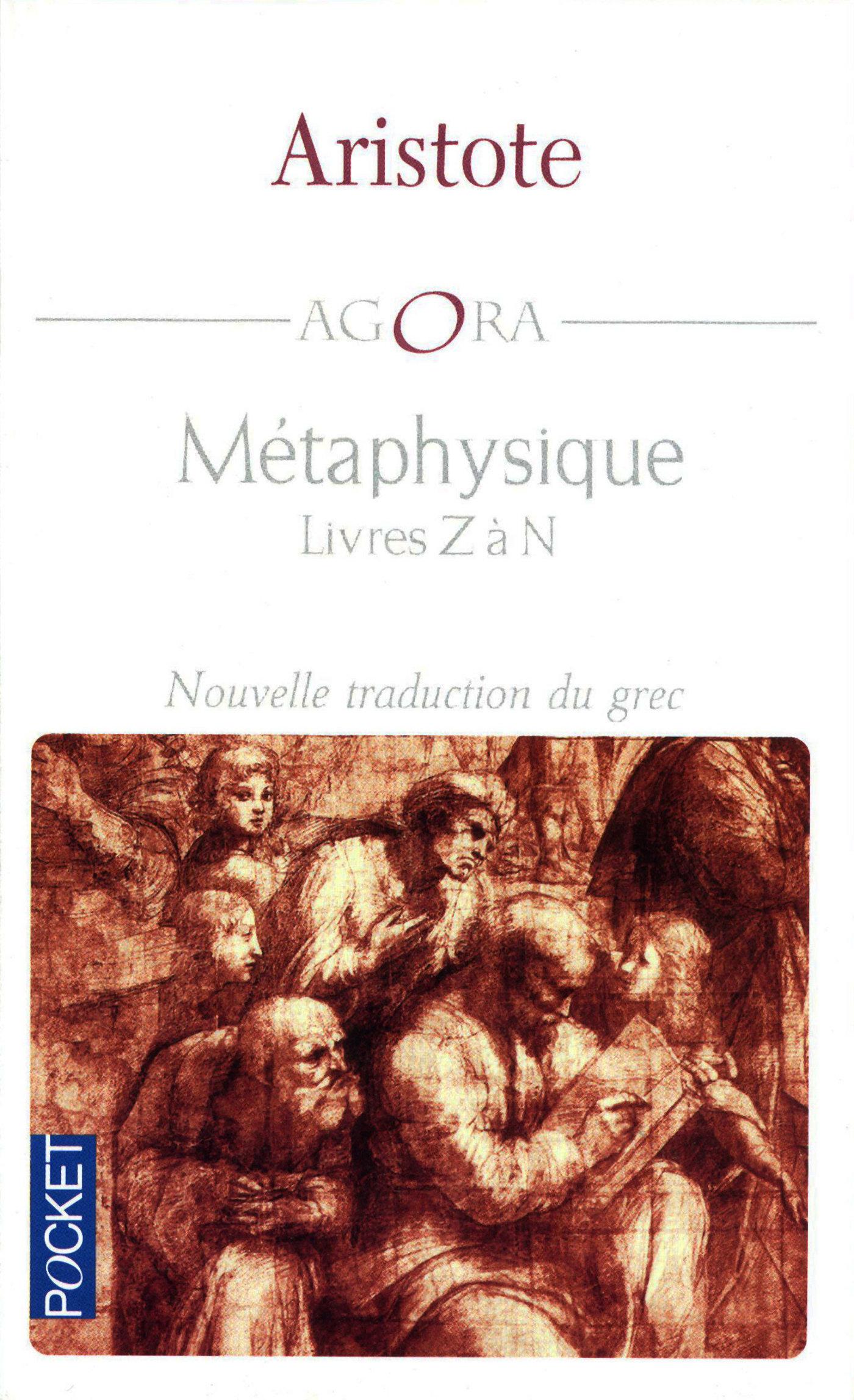 Métaphysique - Livres Z à N