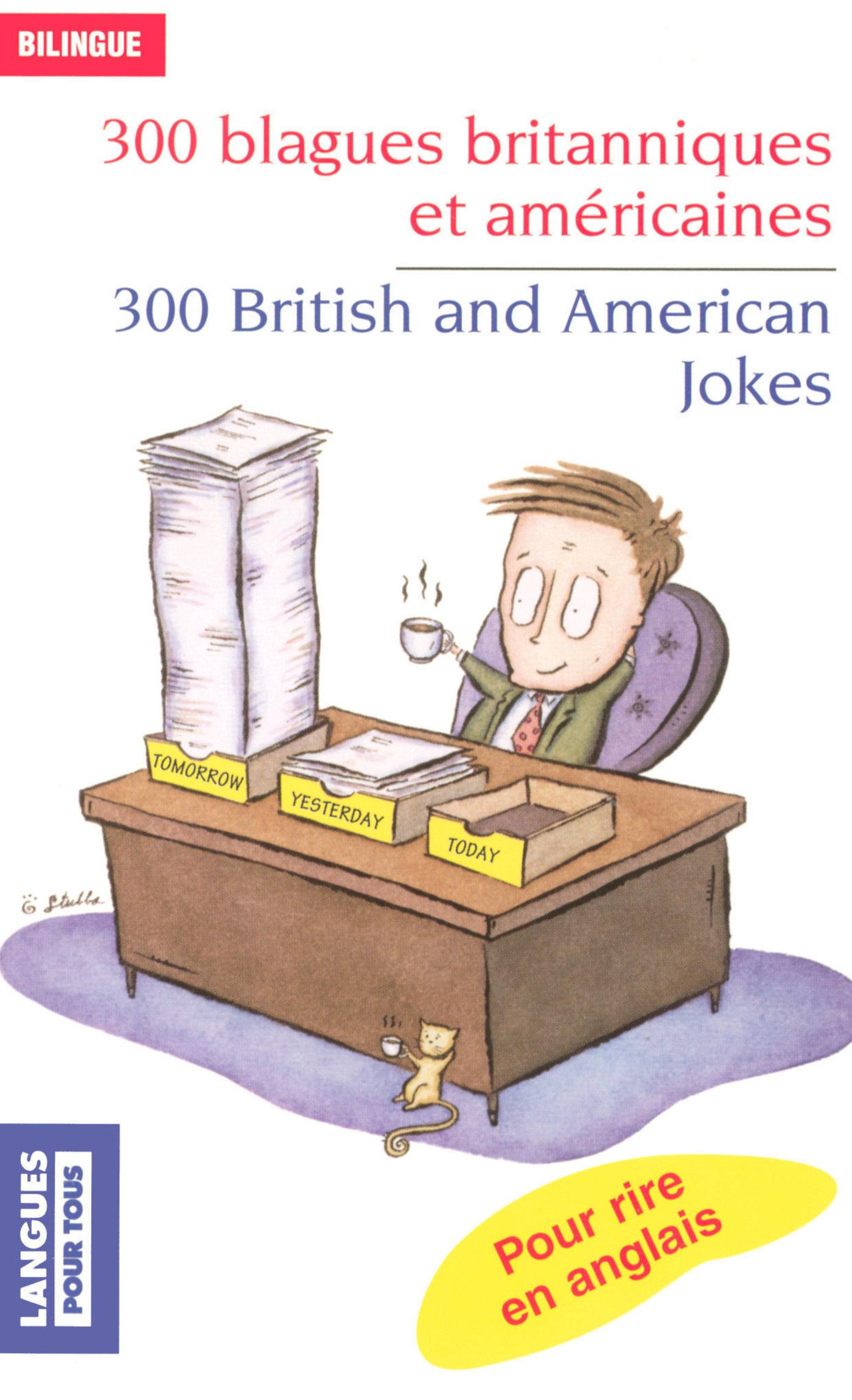 300 blagues britanniques et américaines (ebook)