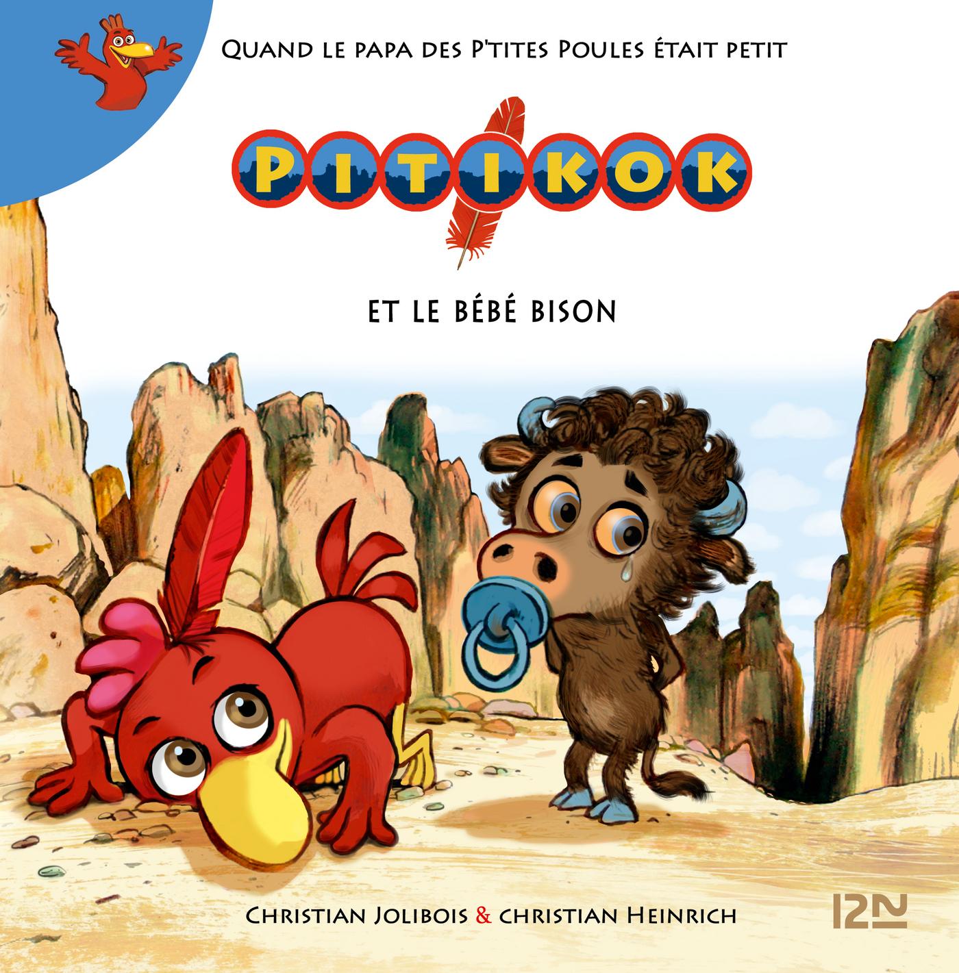 Pitikok et le bébé bison (ebook)