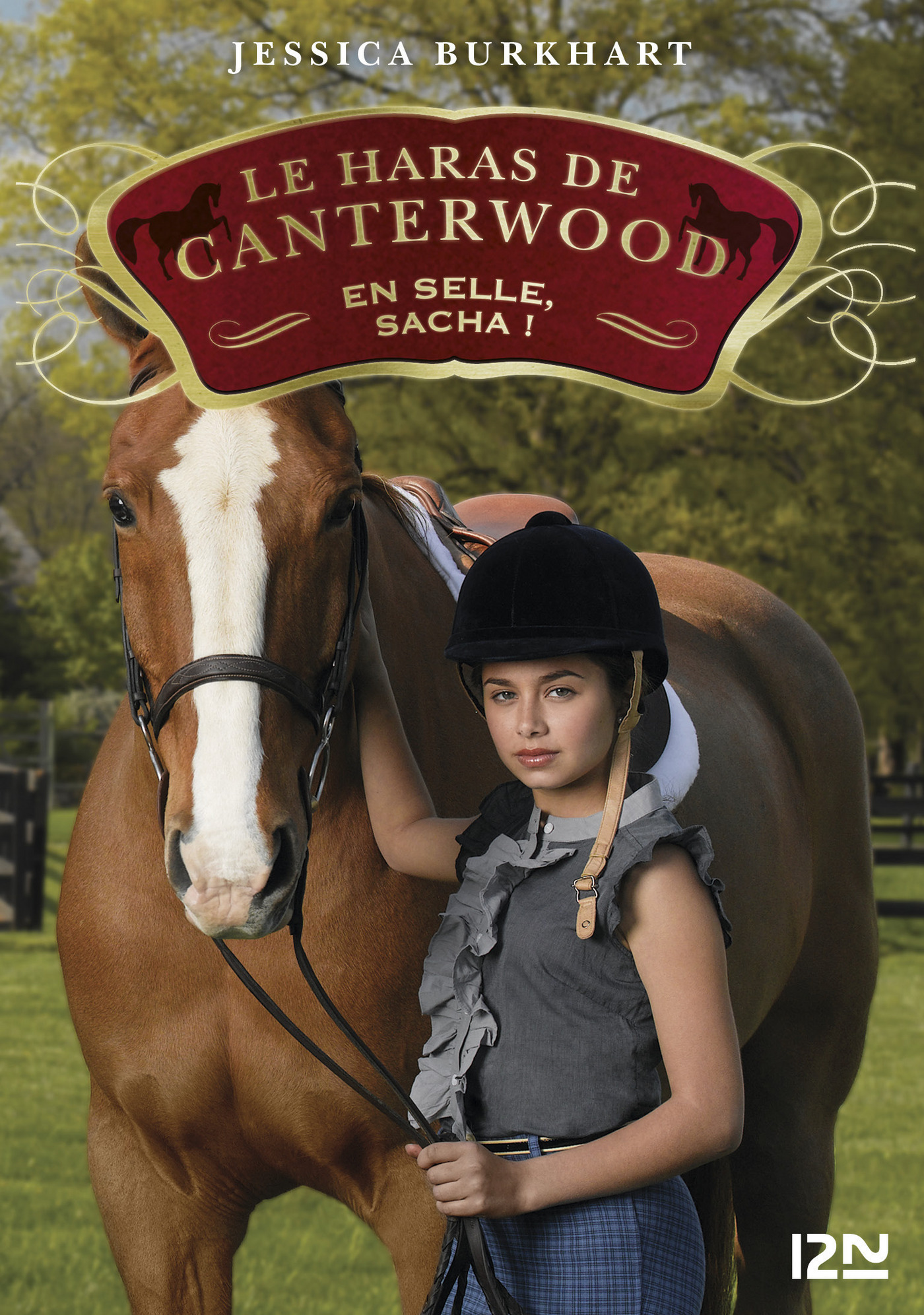 Le haras de Canterwood - tome 1 : En selle, Sacha !
