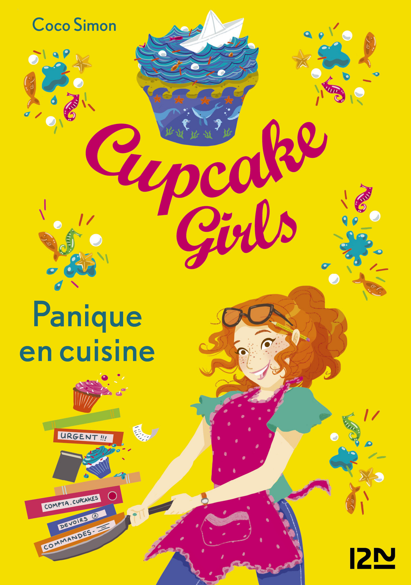 Cupcake Girls - tome 8 : Panique en cuisine (ebook)