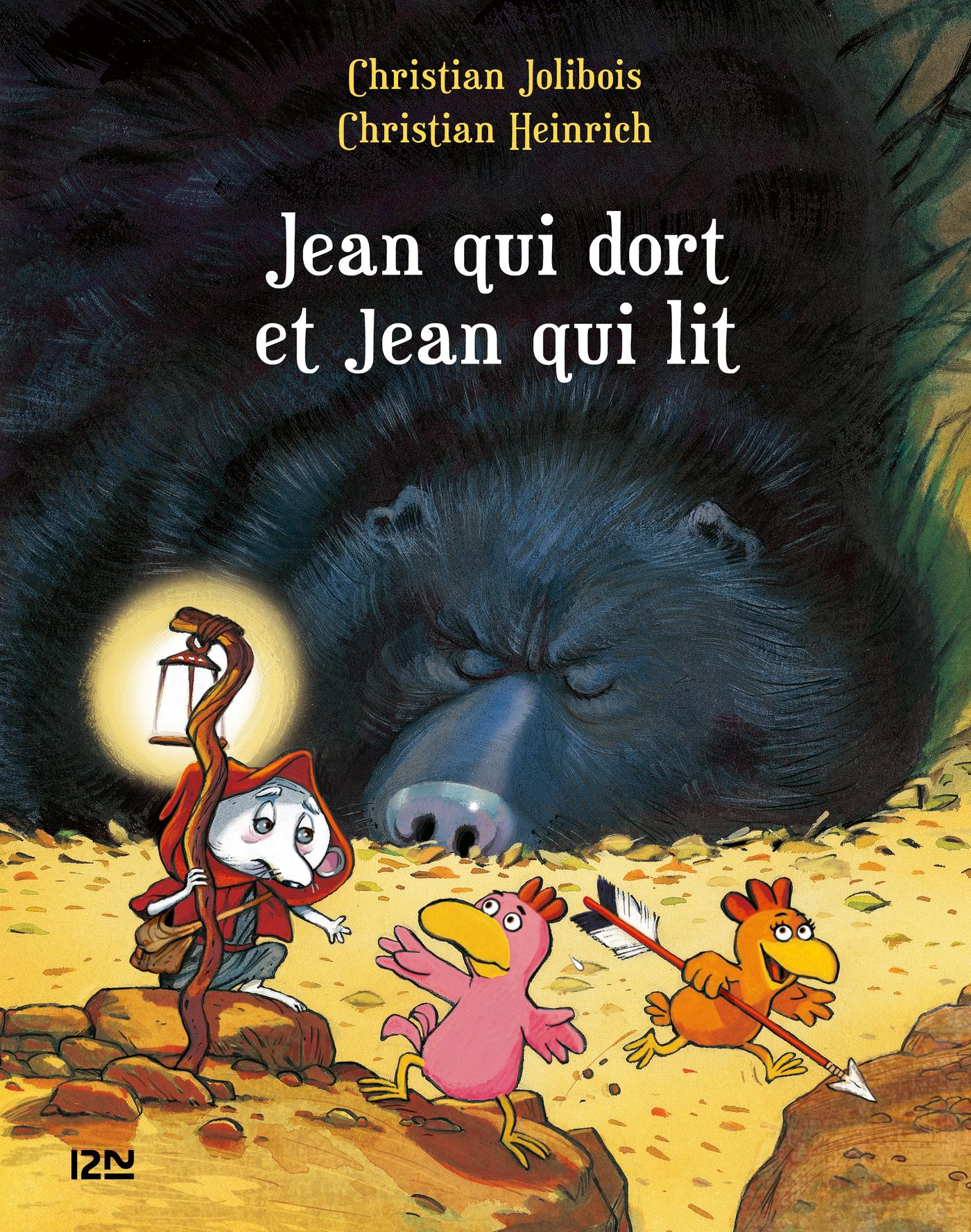 Les P'tites Poules - Jean qui dort et Jean qui lit