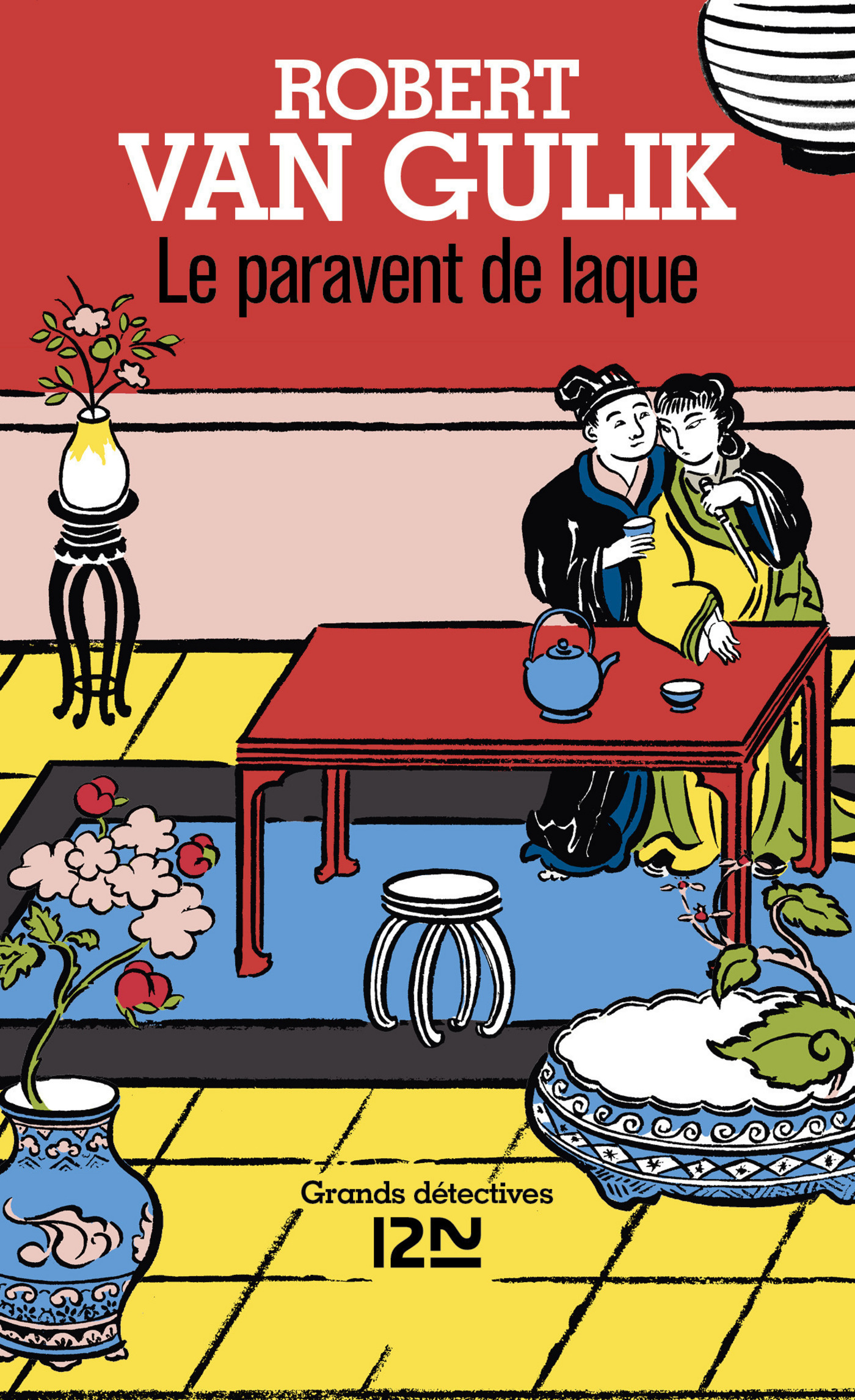 Le paravent de laque (ebook)