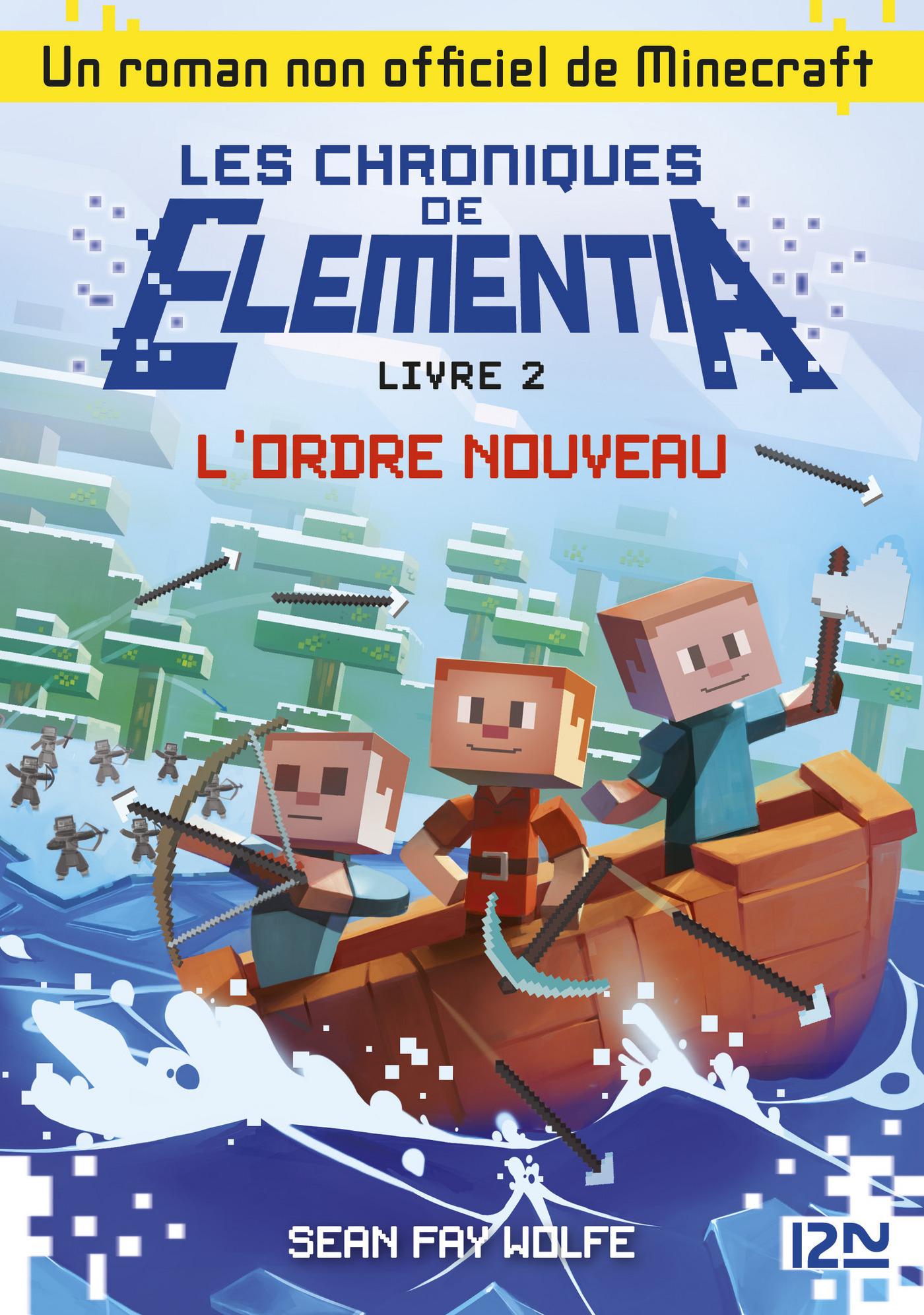Les Chroniques d'Elementia - tome 2 : L'ordre nouveau (ebook)