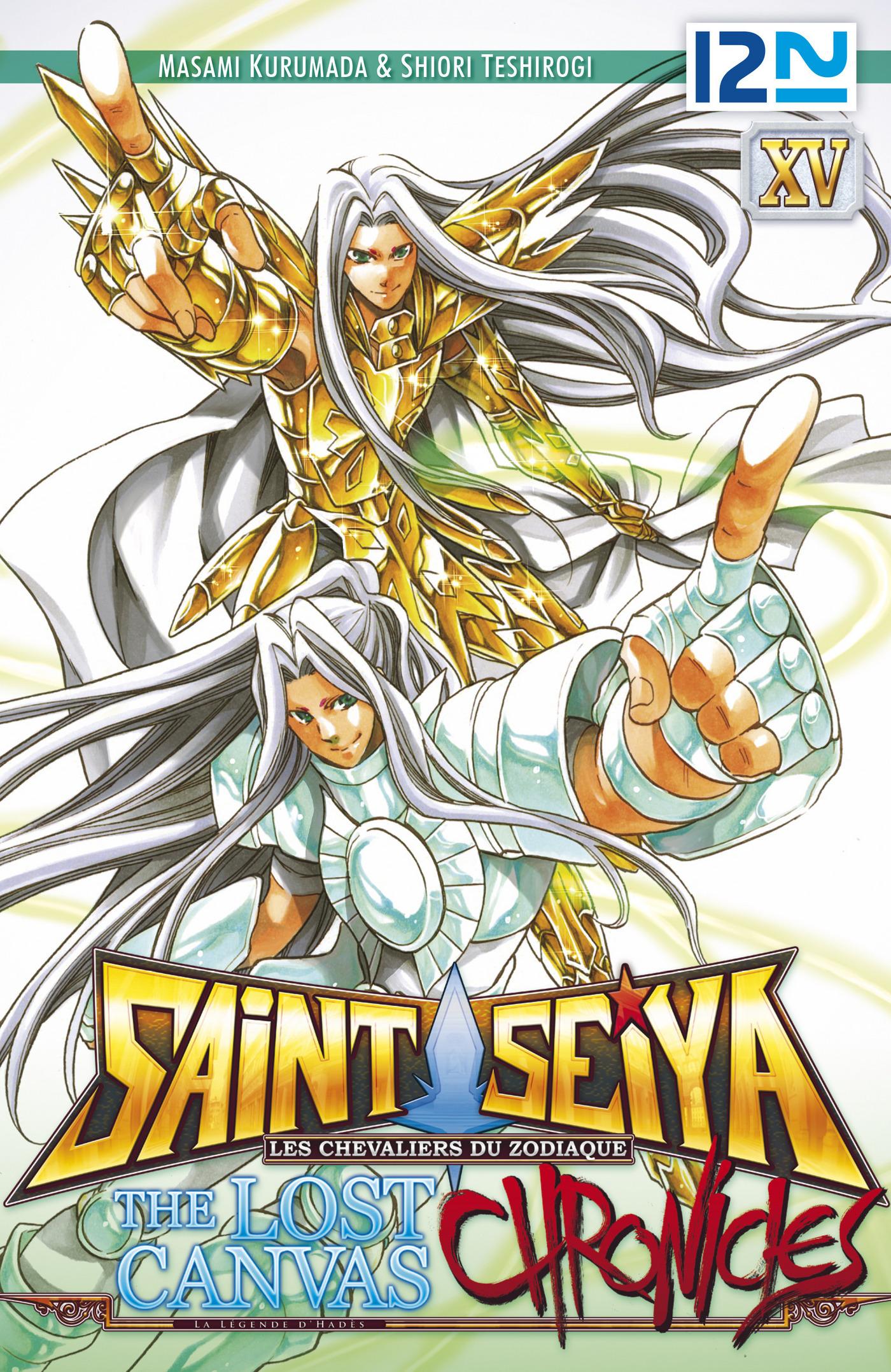 Saint Seiya - Les Chevaliers du Zodiaque - The Lost Canvas - La Légende d'Hadès - Chronicles - tome 15