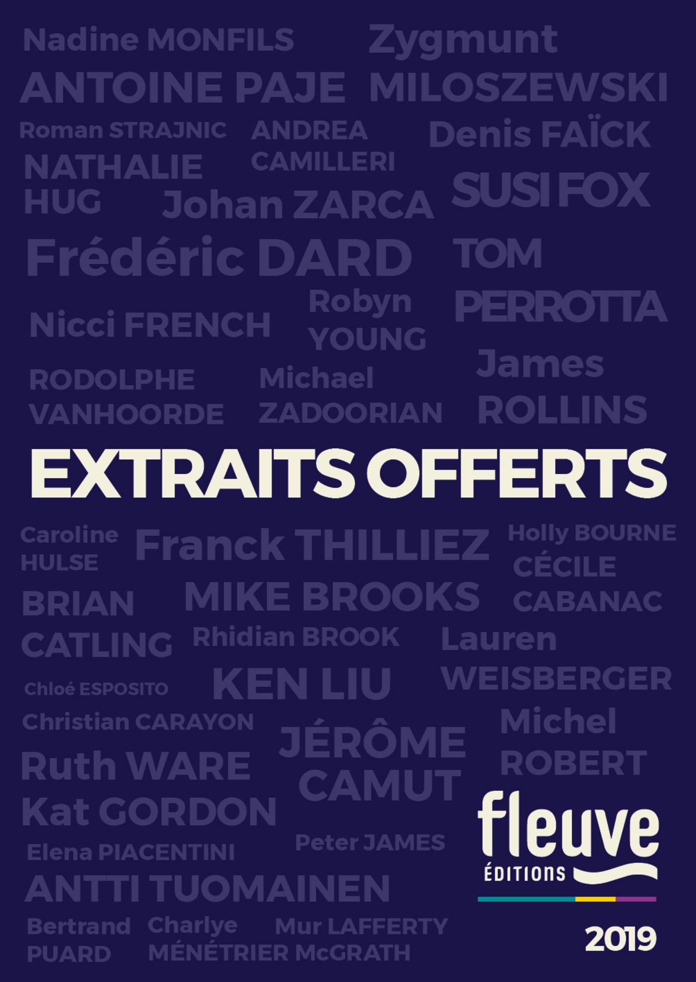 Fleuve ?ditions - Extraits offerts 2019