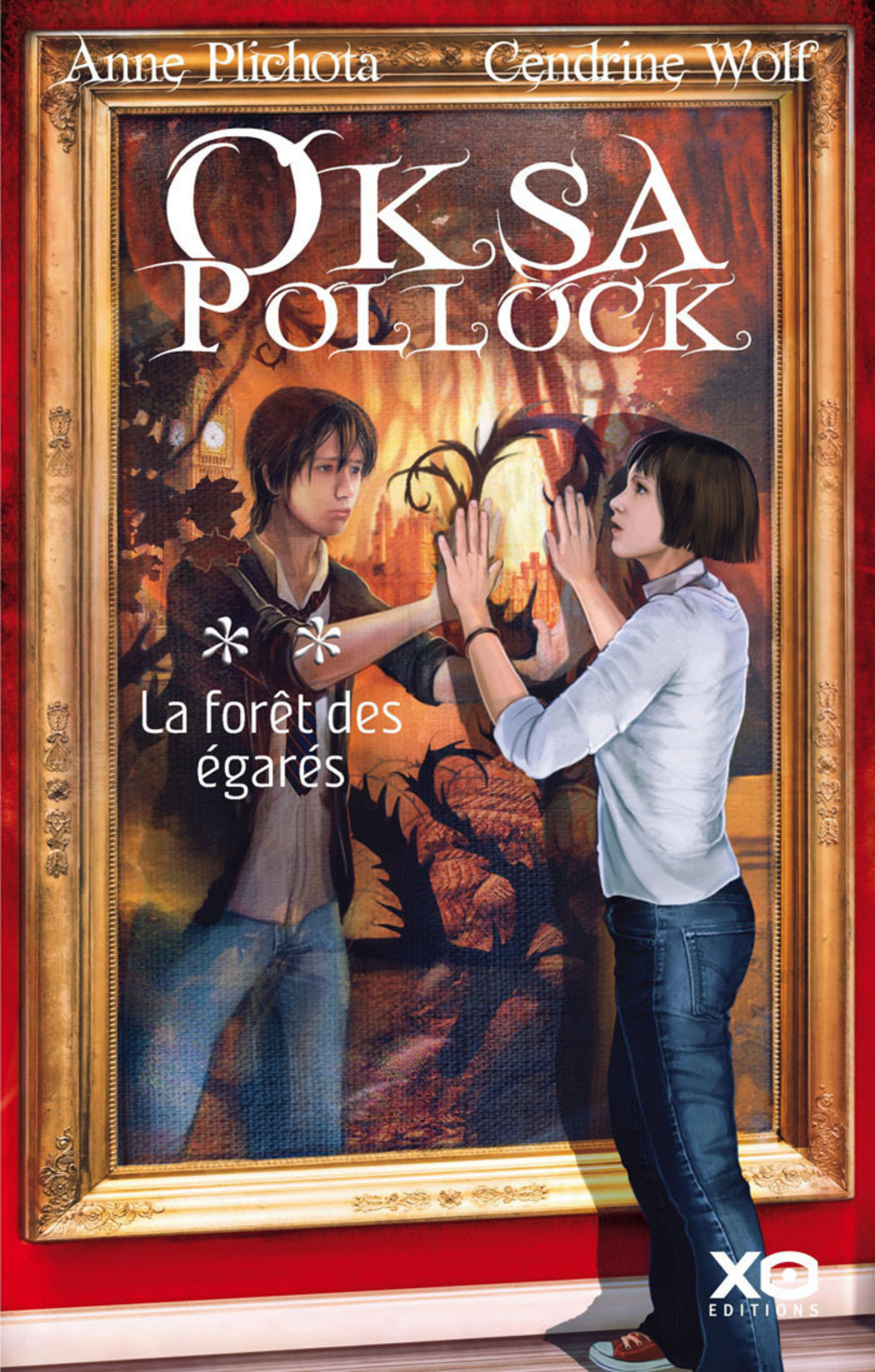 Oksa Pollock - tome 2 La forêt des égarés (ebook)
