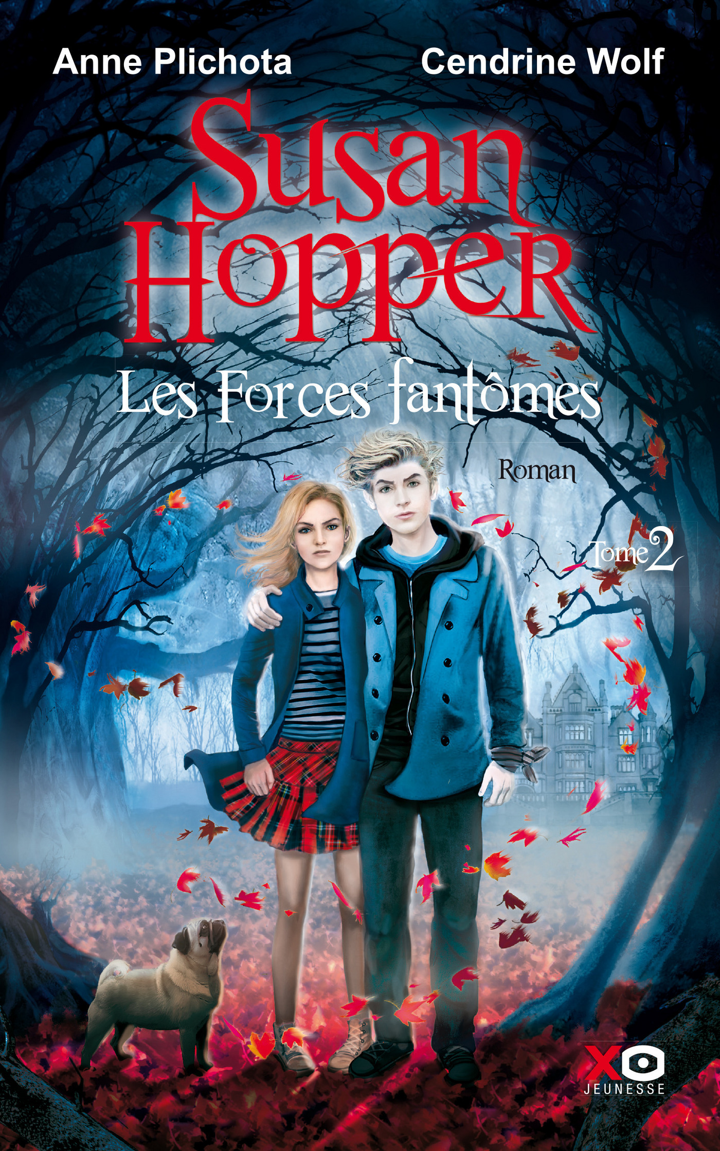 Susan Hopper - tome 2 les forces fantomes (ebook)